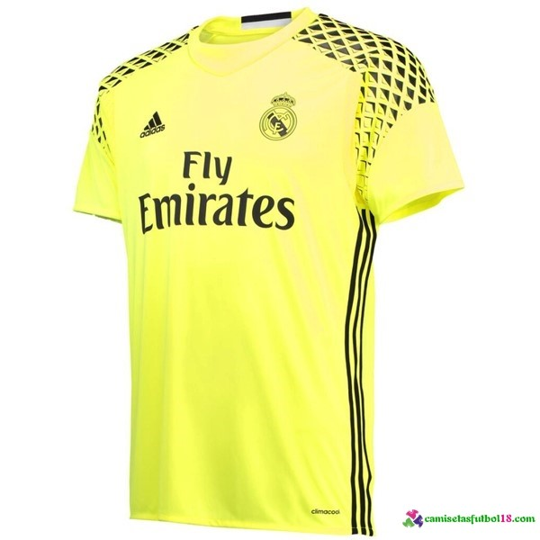Camiseta 2ª Kit Real Madrid Portero 2016 2017